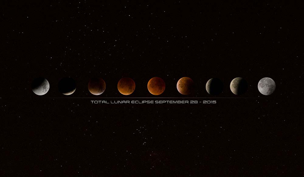 Total Lunar Eclipse 28th 2015