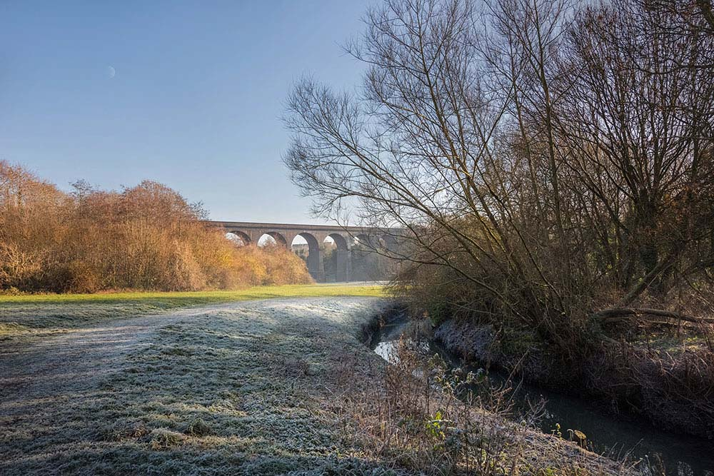 Winter stroll, Stambermill Viaduct, Stourbridge.