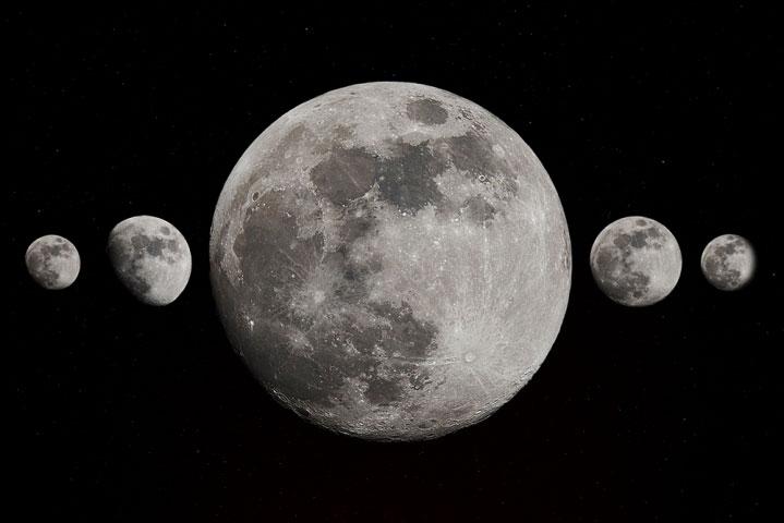 Full moon April 2016.