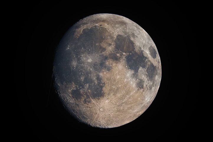 Full Moon Mosaic in colour.